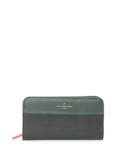 Paul'S Boutique Clutch / El Çantası Yeşil